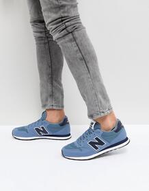 Синие кроссовки New Balance 500 - Синий 1157077
