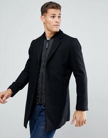 Черное двухслойное пальто Tom Tailor - Черный 1182692