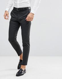 Суженные книзу брюки в тонкую полоску Selected Homme - Серый 1160730