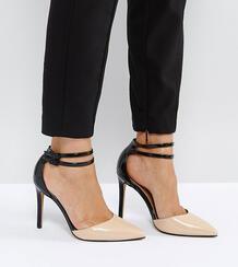 Остроносые туфли на каблуке ASOS PRIMROSE - Мульти ASOS DESIGN 1148913