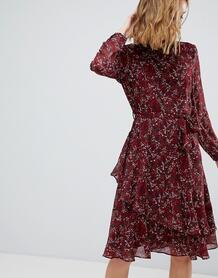 Ярусное платье с цветочным принтом Vero Moda - Мульти 1205783