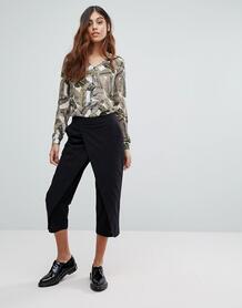 Многослойные брюки Vero Moda - Черный 1168455