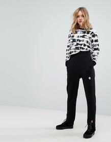 Зауженные брюки с логотипом Cheap Monday - Черный 1184299