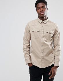 Рубашка с длинными рукавами и двумя карманами Brave Soul 1174770