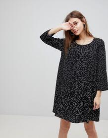 Платье в горошек FRNCH - Черный 1132727