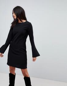 Платье с рукавами-клеш Vila - Черный 1142363