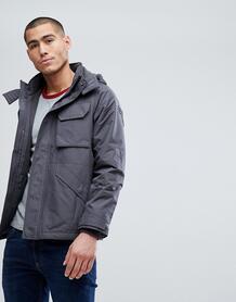 Серая куртка средней плотности Abercrombie & Fitch - Серый Abercrombie& Fitch 1204849