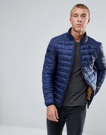 Темно-синяя дутая куртка River Island - Темно-синий 1207102