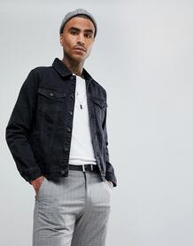 Черная джинсовая куртка Mennace - Черный 1200532