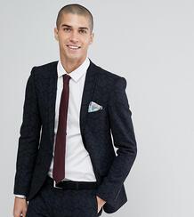 Приталенный пиджак из смешанной шерсти с принтом Heart & Dagger 1180057