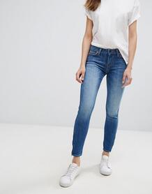 Укороченные джинсы скинни Lee Scarlett - Синий 843551