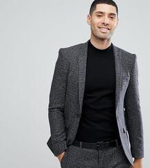 Облегающий пиджак Heart & Dagger - Серый 1180033