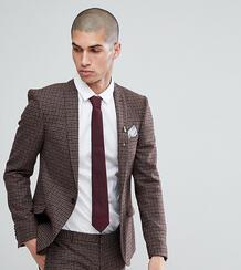 Облегающий пиджак Heart & Dagger - Коричневый 1180029