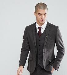 Приталенный пиджак Heart & Dagger Wedding - Коричневый 1179694