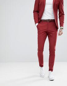 Супероблегающие брюки Selected Homme - Красный 1160685