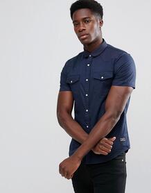 Рубашка с короткими рукавами и двумя карманами Brave Soul 1174762
