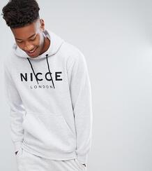 Серый свитшот с логотипом на груди Nicce эксклюзивно для ASOS - Серый Nicce London 1154549