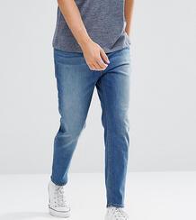 Синие суженные книзу джинсы ASOS TALL - Синий 1103802