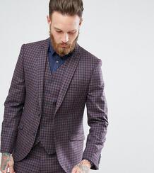 Облегающий пиджак в клетку Heart & Dagger - Серый 1089404