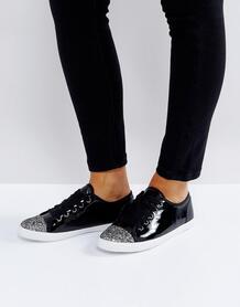 Лакированные кроссовки Carvela - Черный 1077341