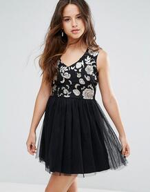 Платье с тюлевой юбкой Louche Maykaylee - Черный 1088097