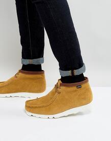 Замшевые ботинки Clarks Originals Wallabee GTX - Рыжий 1092210