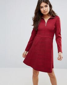 Платье на молнии Wood Wood Janet - Красный 1017304