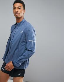 Синяя куртка New Balance Running speed run mj73253vti - Синий 1129673