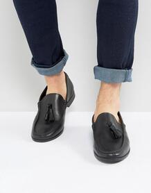 Черные кожаные лоферы с кисточками Frank Wright - Черный 1112750