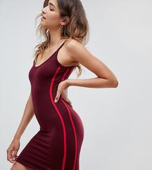 Облегающее платье мини в контрастную полоску Missguided - Красный 1130113