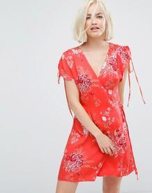 Платье с запахом и шнурком Minkpink - Мульти 1091632