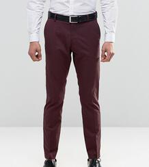 Брюки слим из эластичной ткани Selected Homme - Красный 730062