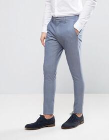 Супероблегающие брюки Selected Homme Wedding - Синий 1021194