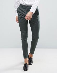 Супероблегающие брюки Selected Homme - Зеленый 1021298
