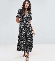Платье макси с цветочным принтом Glamorous Tall - Мульти 950429