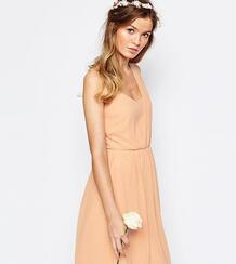 Платье на одно плечо Vila - Розовый 827460