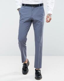 Эластичные облегающие брюки Selected Homme - Синий 1085819