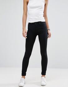Эластичные облегающие джинсы Weekday - Кремовый 844070