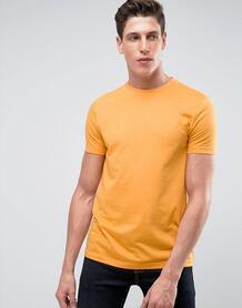 Желтая футболка с круглым вырезом ASOS - Желтый 1041307