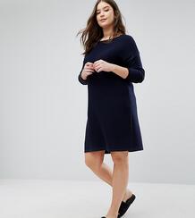 Платье-джемпер ASOS CURVE - Темно-синий 1025946