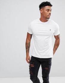 Белая узкая футболка с логотипом Original Penguin - Белый 958807