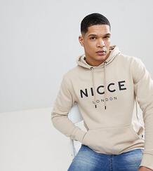 Худи бежевого цвета с логотипом Nicce эксклюзивно для ASOS - Бежевый Nicce London 1033832