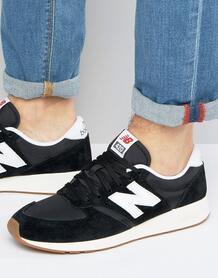 Черные кроссовки в стиле 70-х New Balance Running 420 MRL420SD 1007258