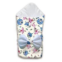 Одеяло квадратное с бантом Балерина Ququbaby 945042