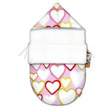 Конверт для новорожденного Сердечки mini (лето) Ququbaby 945016