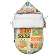 Конверт для новорожденного Мудрая Сова (лето) Ququbaby 944975