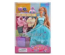 Кукла Люси в вечернем платье с аксессуарами арт.8012 Defa 139935