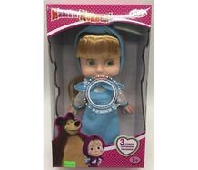 Кукла Маша в голубом платье 25 см Карапуз 653826