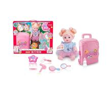 Кукла-путешественница аксессуарами 9 предметов 35 см Наша Игрушка 660608