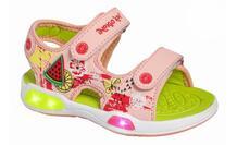 Сандалии для девочки со светодиодами 22-201B/12 Indigo kids 850922